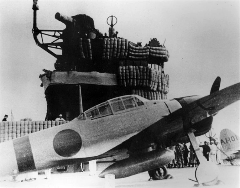 File:A6M2 on carrier Akagi 1941.jpeg