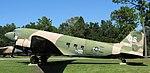 """AC-47 """"Spooky"""" gunship, USAF Armaments Museum, Eglin AFB, Florida.jpg"""