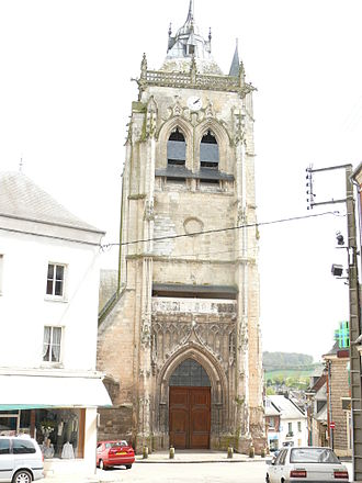 Aumale - Image: AUMALE Portail de l'église St Pierre Saint Paul