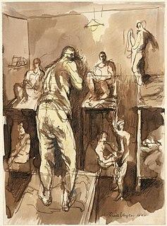 Keith Vaughan British artist