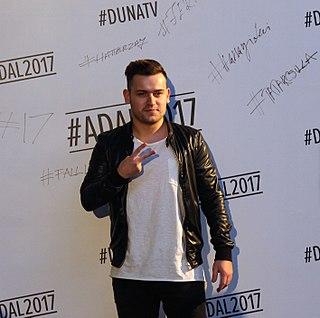 Ádám Szabó (singer) Hungarian musician, singer, and accordionist
