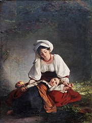A mother from Alvito