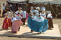 "A Panamanian ""Folklorico"" dancing group performs for the guests in La Mesa, Panama, on March 8, 2005, during the Opening Ceremony of New Horizons 05 050308-A-GR704-027.jpg"