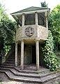 A garden gazebo Gibberd Garden Essex England 01.JPG