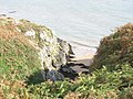 A geo or collapsed cave on the island's east coast - geograph.org.uk - 255131.jpg