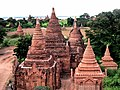 A group of Buddhist Stupas in Bagan, Myanmar.jpg