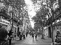 A street circa Gran Via in Madrid, Spain.JPG