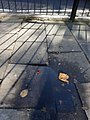 A trip hazard on Philip Lane, Haringey, London 02.jpg