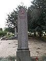 A város felszabadításakor elesett katonák, Szovjet katonai temető, 2016 Szekszárd.jpg