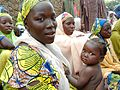 A woman attends a health education session in northern Nigeria (8406369172).jpg