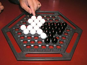Abalone (board game) - Image: Abalone Boardgame