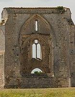 Abbaye Notre-Dame de Ré Île de Ré detail window Charente-Maritime.jpg