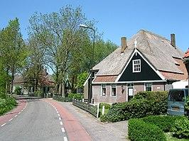 Stolpboerderijen in Abbekerk