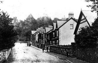 Abernant, Rhondda Cynon Taf - Image: Abernant Road c,1900