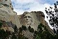 Abraham Lincoln on Mt. Rushmore, South Dakota, August 22, 2007 (5767045992).jpg