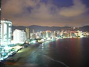 A view of the Acapulco coastal region.