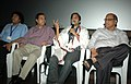 Actor Omi Vaidya interaction with the audience in master class, during the 42nd International Film Festival of India (IFFI-2011), in Panaji, Goa. The Chief Minister of Goa, Shri Digambar Kamat, the Chief Secretary of Goa.jpg