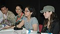 Actress Mahima Chowdhury and the Director Ms. Tanuja Chandra at a press conference during the ongoing 37th International Film Festival (IFFI-2006) in Panaji, Goa on November 30, 2006.jpg