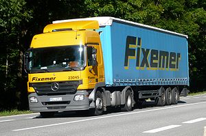 Large goods vehicle - Mercedes-Benz large goods vehicle