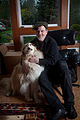 Adam Parfrey with dog.jpg