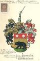 Adelsakt - Préveaux 1917 - Wappen.png