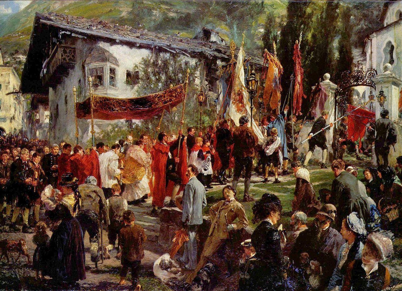 Фронляйхнам - Fronleichnam - Праздник Тела и Крови Христовых