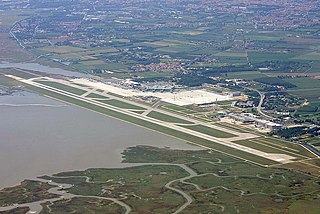 international airport serving Venice, Italy