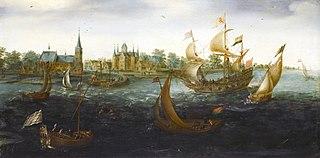 Navires au large IJsselmonde