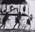 Affresco di una processione di falegnami, Bottega del Profumiere, Pompei (I secolo d.C.).jpg