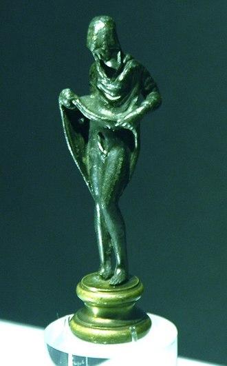 Aphroditus - Bronze statuette, Roman imperial, 1st-3rd century AD, British Museum.