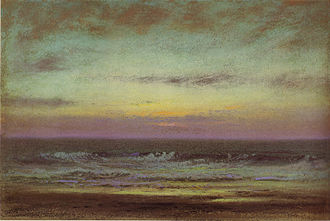 Dwight William Tryon - Image: After sunset looking east dwight william tryon