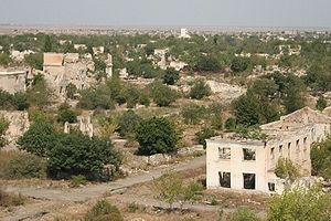 Ağdam işgaldan sonra, şimdi ölü şehir