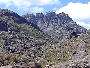National park (Brazil) - Pico das Agulhas Negras in the  Itatiaia National Park