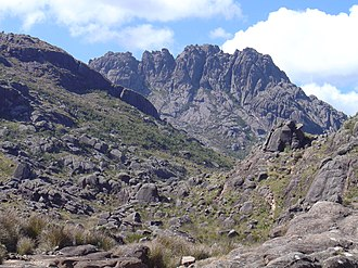 National park (Brazil) - Pico das Agulhas Negras in the  Itatiaia National Park