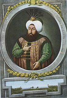 Ahmed II Sultan of the Ottoman Empire from 1691 to 1695