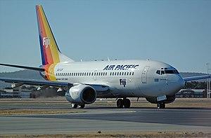 Air Pacific Boeing 737-700 CBR Gilbert.jpg