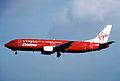Air Provence Charter Boeing 737-400; F-GMBR, September 1997 (5120693824).jpg