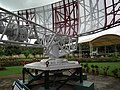 Air traffic control radar and antenna at HAL Museum 7836.JPG