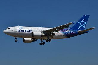 Air Transat - Air Transat Airbus A310-300