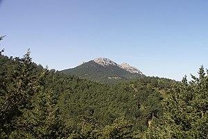Rhodes - Akramitis mountain
