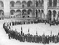 Akropolia - poświecenie sztandaru, Kraków 1930.jpg