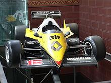La Renault di Prost del 1983.