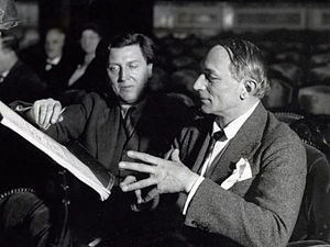 Maurice Corneil de Thoran - Alban Berg and Maurice Corneil de Thoran (1932)