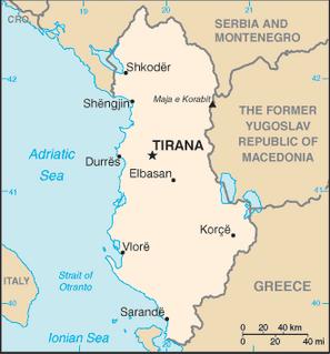 Bibliography of Albania