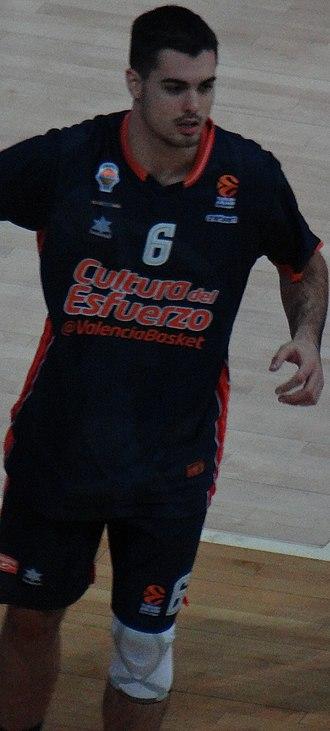 Alberto Abalde - Image: Alberto Abalde 6 Valencia Basket 20171102 (2)