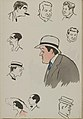 Album Sem à la mer - M Fitzgerald, baron Lionel de Rothschild, Max Decugis, M Primerost, comte de Grandmaison, Mme X, M Mac Kee, M Goldschmidt.jpg