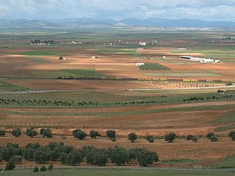 3rd Mixed Brigade - View of Alcázar de San Juan where the Third Mixed Brigade was established.