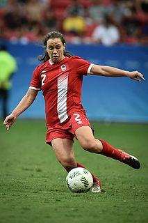 Allysha Chapman Canadian soccer player