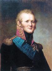 Tsar Alexander I.