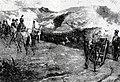Alexandre Lunois - French artillery stand near Somosierra.jpg